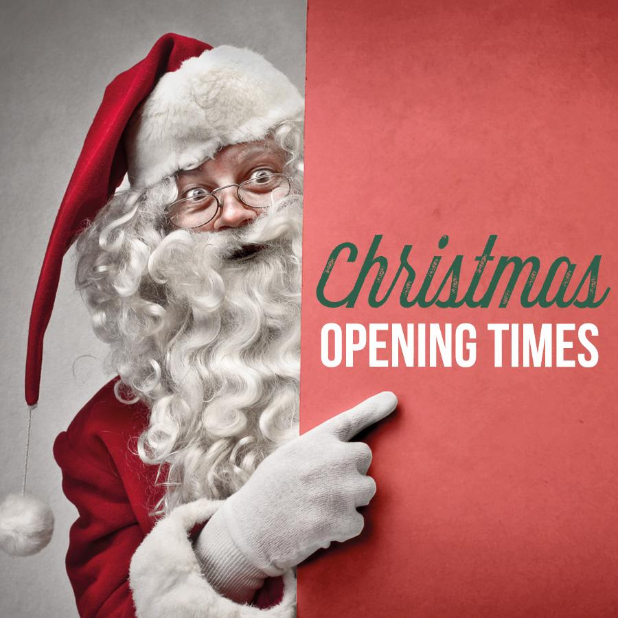 Kustom Kit Christmas Opening Times